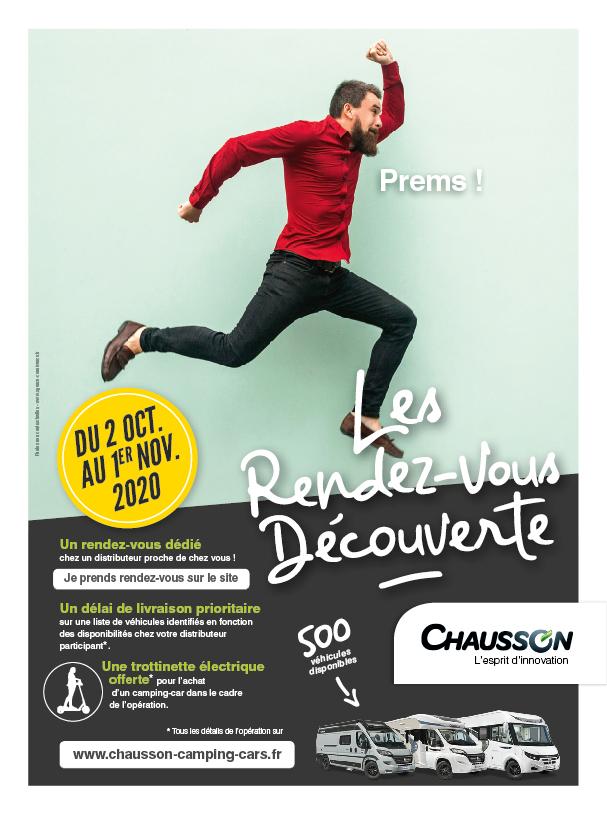 Les rendez-vous D'octobre Camping-cars Chausson